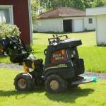 Trädgårdsgrävare för fibern